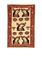 Kilim Carpets by Jalal Alfombra Gashgai (Beige/Multicolor)