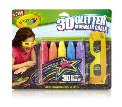Crayola 3D Glitter Chalk Pack