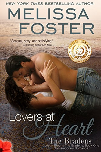 Melissa Foster - Lovers at Heart (Love in Bloom: The Bradens, Book One) Contemporary Romance (English Edition)
