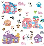 (6x11) Littlest Pet Shop Repositional Wall Decal