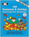 img - for 168 Seasonal & Holiday Open-Ended Artic Worksheets (Super Duper Series) book / textbook / text book