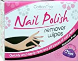 Nail Polish Remover Wipes Professional Wipes Pack of 20