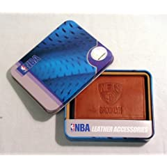 NBA Embossed Tri-Fold Wallet NBA Team: New Jersey Nets by Rico