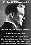 Image of F. Scott Fitzgerald 4 Novels This Side of Paradise, The Beautiful and the Damned, Tales From the Jazz Age (Illustrated)