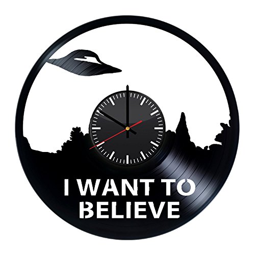 X-Files-Handmade-Vinyl-Record-Wall-Clock-Fun-gift-Vintage-Unique-Home-decor-Art-Design-Retro-Interier