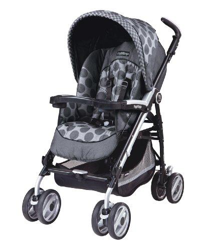 Peg-Perego 2011 Pliko P3 Compact Stroller, Pois Grey