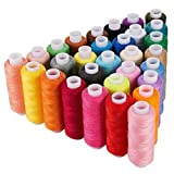 CiaraQ Sewing Thread 30 Colors 250 Yards Polyester Each Thread Spools for Sewing Machine Embroidery Use (Color: Multicolor, Tamaño: 30 Spool Sewing Thread)