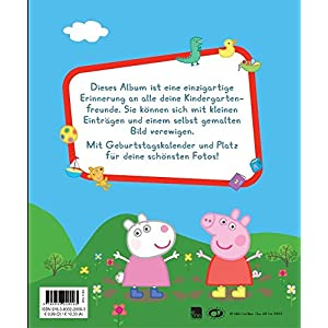 Peppa Kindergartenfreundebuch: Meine Kindergartenfreunde