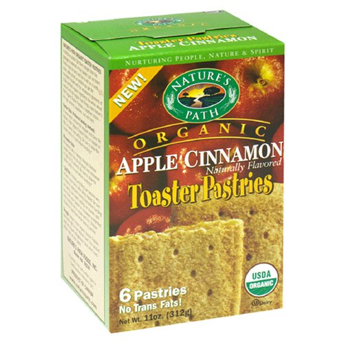 Buy Nature's Path Toaster Pastries, Apple Cinnamon Un-Frosted, 6-Count Boxes (Pack of 12) (Nature's Path, Health & Personal Care, Products, Food & Snacks, Breakfast Foods, Toaster Pastries)