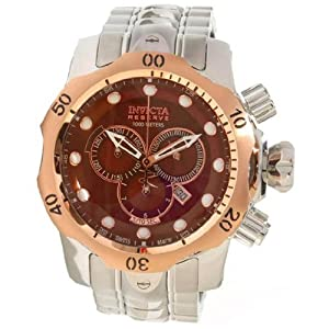 Invicta 10787 Reserve Men's Venom Swiss Made Quartz Chronograph Stainless Steel Bracelet Watch