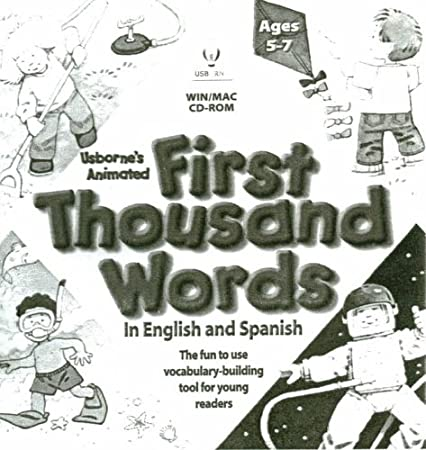 Usborne's Animated First Thousand Words in English and Spanish