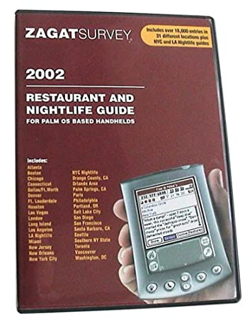 Zagat 2002 Restaurant Survey
