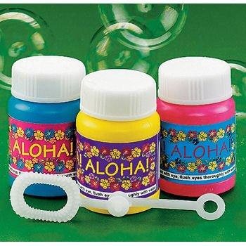 Mini Aloha Bubble Bottles (1 ct) (1 per package)