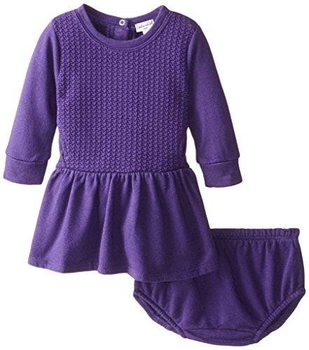 Splendid Littles Baby Girls Active BFT Dress Purple 12