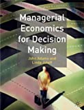 Managerial Economics For Decision Making (0333961110) by Adams, John