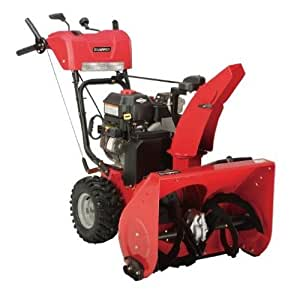 Snapper 1696000 24-Inch 205cc OHV Briggs & Stratton Gas-Powered Two-Stage Snow Thrower with Electric Start (Discontinued by Manufacturer)