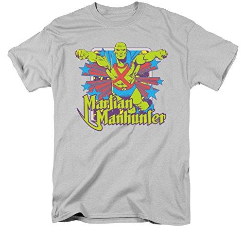 Martian Manhunter Stars T-Shirt