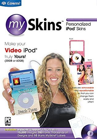 mySkins: Personalized iPod Skins Maker for the Video iPod 30G and 60G