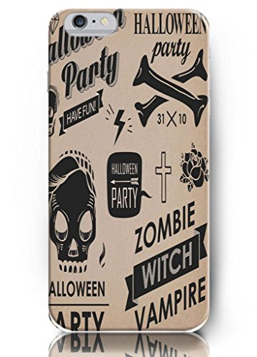 Ouo Cool Unique Design High Quality Slim Fit 4.7 Inch Iphone 6 Case Halloween Party Design