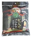 ニッポー 大人のプラチナスティック ペッパーベーコン味 (8g×10本)×4袋