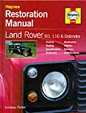 Haynes Owners +Workshop Car Restoration Manual Land Rover Defender Handbook H600 lindsay porter