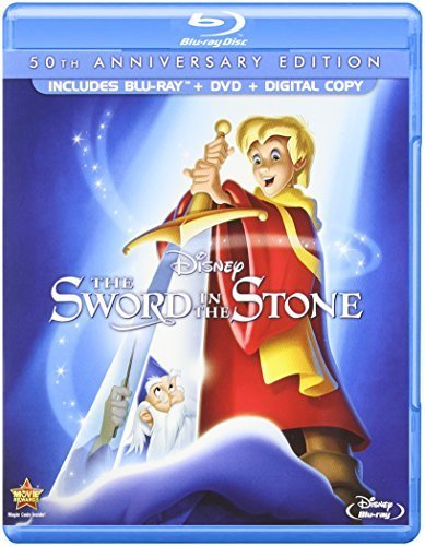 The Sword in the Stone (50th Anniversary Edition) [Blu-ray] by Walt Disney Home Entertainment