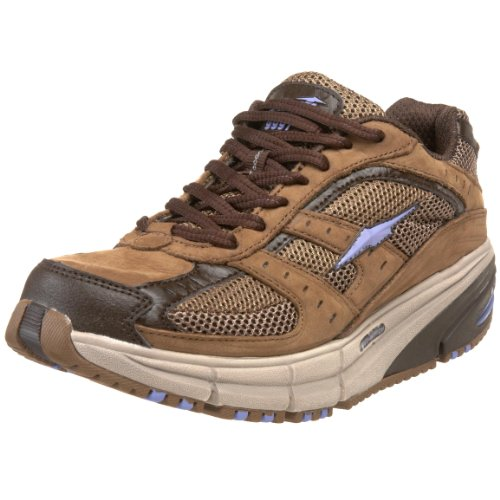 AVIA Women's El Moro A9997W Walking Shoe,Brown/Purple,8 M US