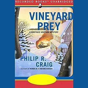 Vineyard Prey Audiobook
