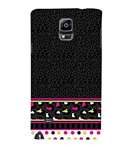 Women's Love Pattern 3D Hard Polycarbonate Designer Back Case Cover for Samsung Galaxy Note 4 N910 :: Samsung Galaxy Note 4 Duos N9100
