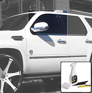 Deluxe Front Window Tint Kit with Application Tools - Toyota Land Cruiser 1998 1999 2000 2001 2002 2003 2004 2005 2006 2007 - 20%
