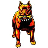 Marco Almera – Pitbull Dog – Vinyl Sticker / Decal MAS-18