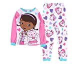 Disney Doc McStuffins With Lambie Toddler Baby Girls 2 Piece Pajamas
