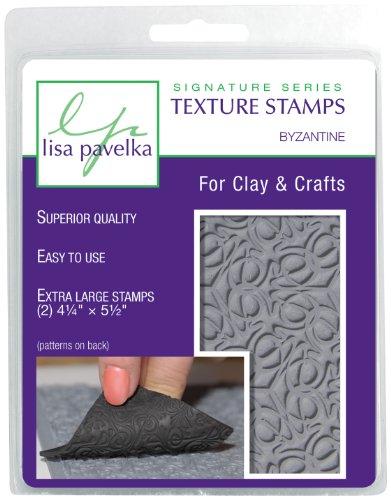 Lisa Pavelka 327018 Texture Stamp Kit Byzantine