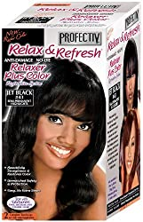 Profectiv Relax & Refresh Jet Black 43 Relaxer Plus Color