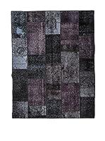 RugSense Alfombra Persian Vintage Patchwork (Negro/Multicolor)