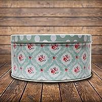 MBGiftsGalore Round Designer Tin Box - Design 13