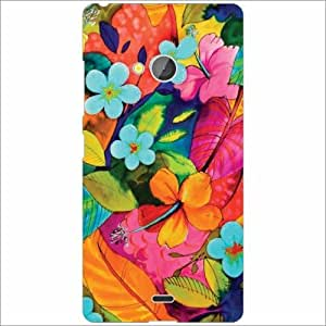 Design Worlds - Microsoft Lumia 540 Dual SIM Designer Back Cover Case - Mul...