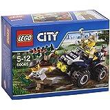 Lego City - 60065 - Jeu De Construction - Le 4 X 4 Du Policier Des Marais