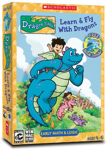 Scholastic Dragon Tales: Learn & Fly With Dragons