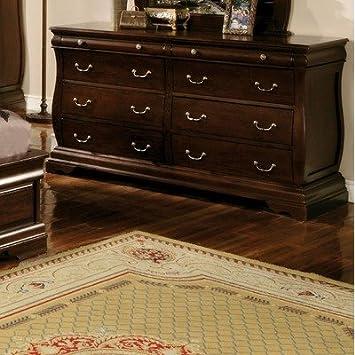 Brunswick Traditional Dresser in Dark Walnut by Furniture of America