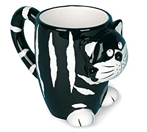 Chester The Cat Kitty Coffee Mug Great For Cat Collections by Burton & Burton