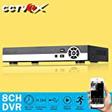 Cctvex 8CH Channel 960H Security Camera DVR Digital Video Recorder With HDMI Output Home Video Surveillance Mobile Phone Monitoring