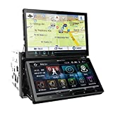 Soundstream VRN-DD7HB Double DIN Bluetooth In-Dash Car Stereo Receiver (Renewed) (Color: BLACK, Tamaño: 7.0 inches)