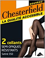 Chesterfield - Semi-Opaque Resistant - Collants Uni - Femme
