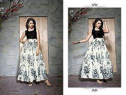 Bhavya Enterprise Benglori Silk Gray Lehenga