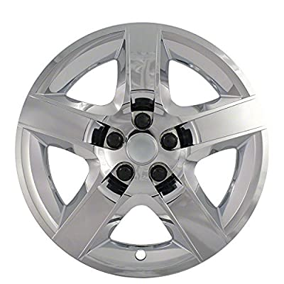 "2007-2009 Saturn Aura 17"" Wheel Hubcaps ""Triple Chrome Plated"" (Set of 4)"