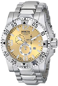 Invicta Men's 15311 Excursion Analog Display Swiss Quartz Silver Watch
