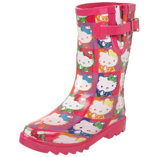 Chooka Toddler/Little Kid Hello Kitty Retrospective Rain Boot