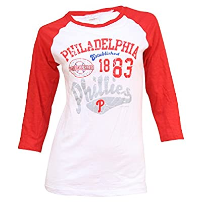 Women's Philadelphia Phillies 3 Quarter Sleeve T-Shirt