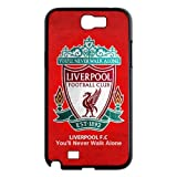 Nexttt Design Liverpool FC Samsung Galaxy Note 2 Cover Liverpool Football Club Logo Hard Case For Note 2